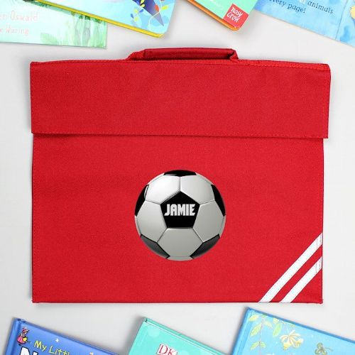 Football Red Book Bag